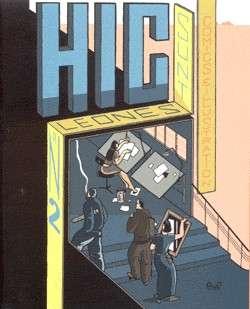 In Stripgids 4 vond u verschillende voorpublicaties uit 'Hic Sunt Leones 2'. (Coverontwerp boek Jan Van der Veken)