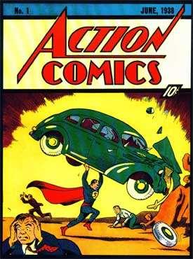 'Superman'-strip verkocht voor 1 miljoen dollar