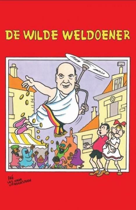 Suske en Wiske in de clinch met Vlaams Belang   Strip Turnhout