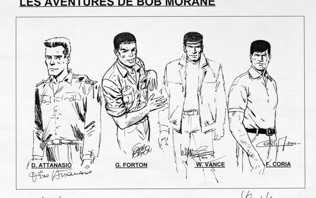 Archief van Henri 'Bob Morane' Vernes geïnventariseerd en raadpleegbaar