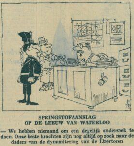 Cartoon uit 't Pallieterke, 1965, ADVN, VY90002