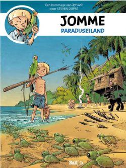 Cover Jommes 'Paradijseiland' - Steven Dupré