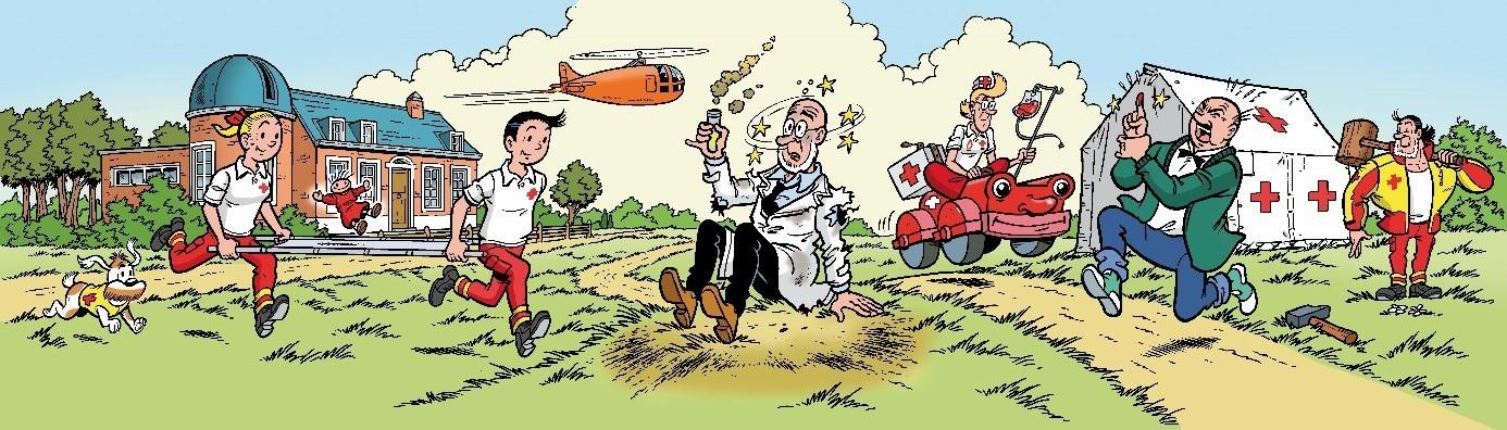 Sticker Rode Kruis (c) Standaard Uitgeverij