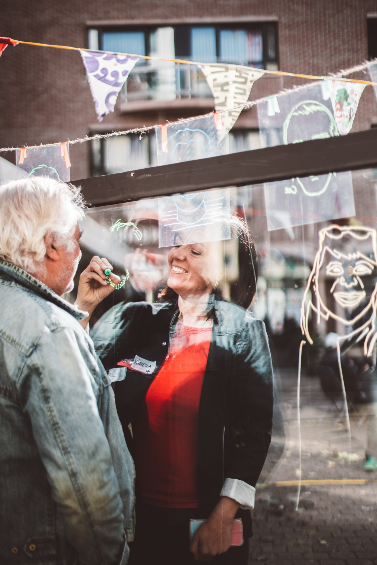 Klein verhaal - Drawing Days 2018 Oostende (c) Evenbeeld