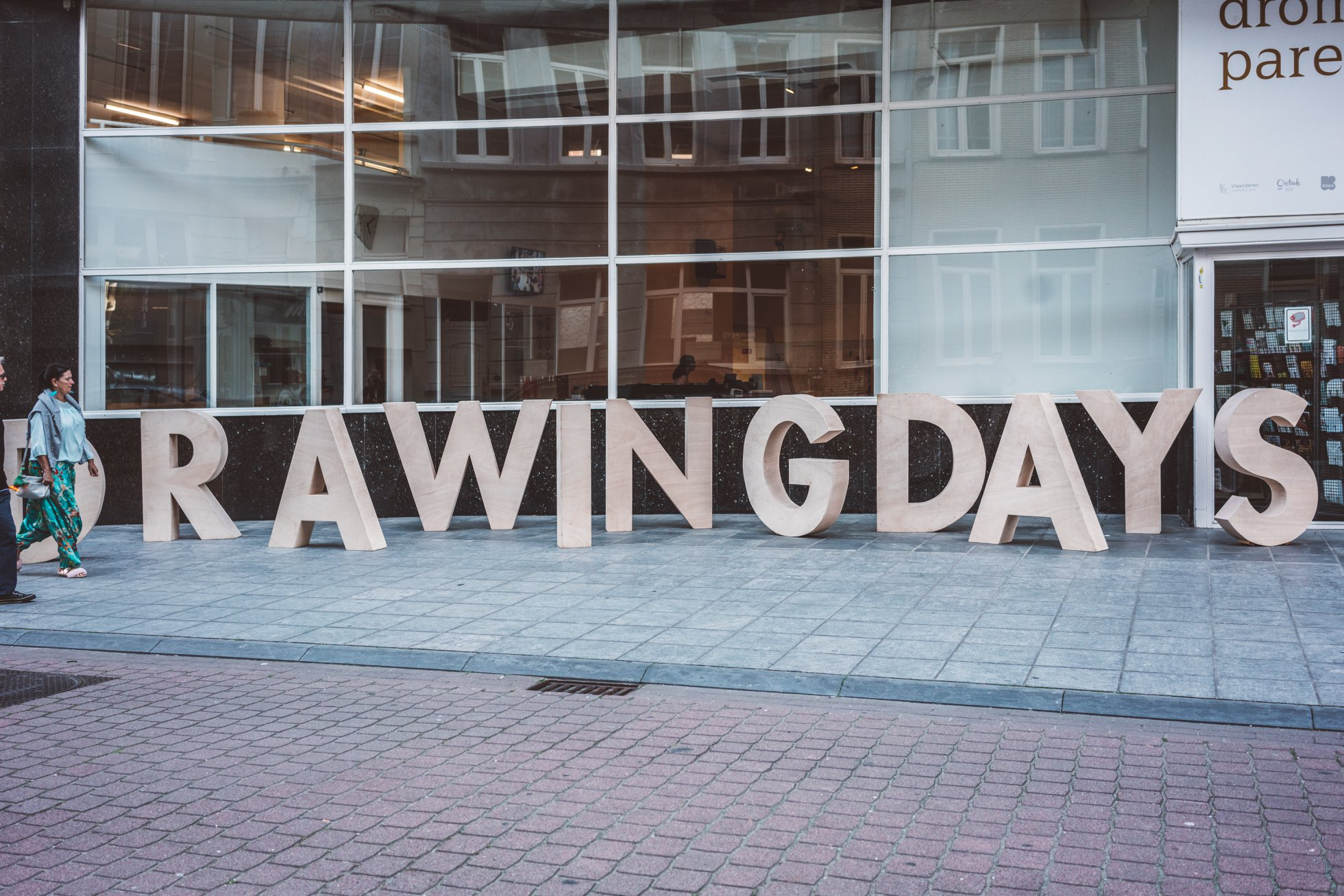 Drawing Days 2018 - Oostende (c) Evenbeeld