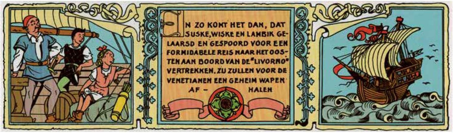 Suske en Wiske - De Tartaarse Helm (c) Standaard Uitgeverij - Willy Vandersteen