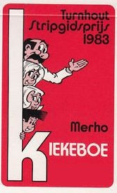 Affiche Stripgidsprijs 1983