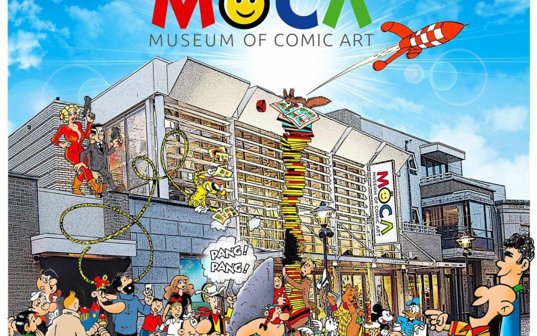 Wordt verwacht: het 'Museum of Comic Art'