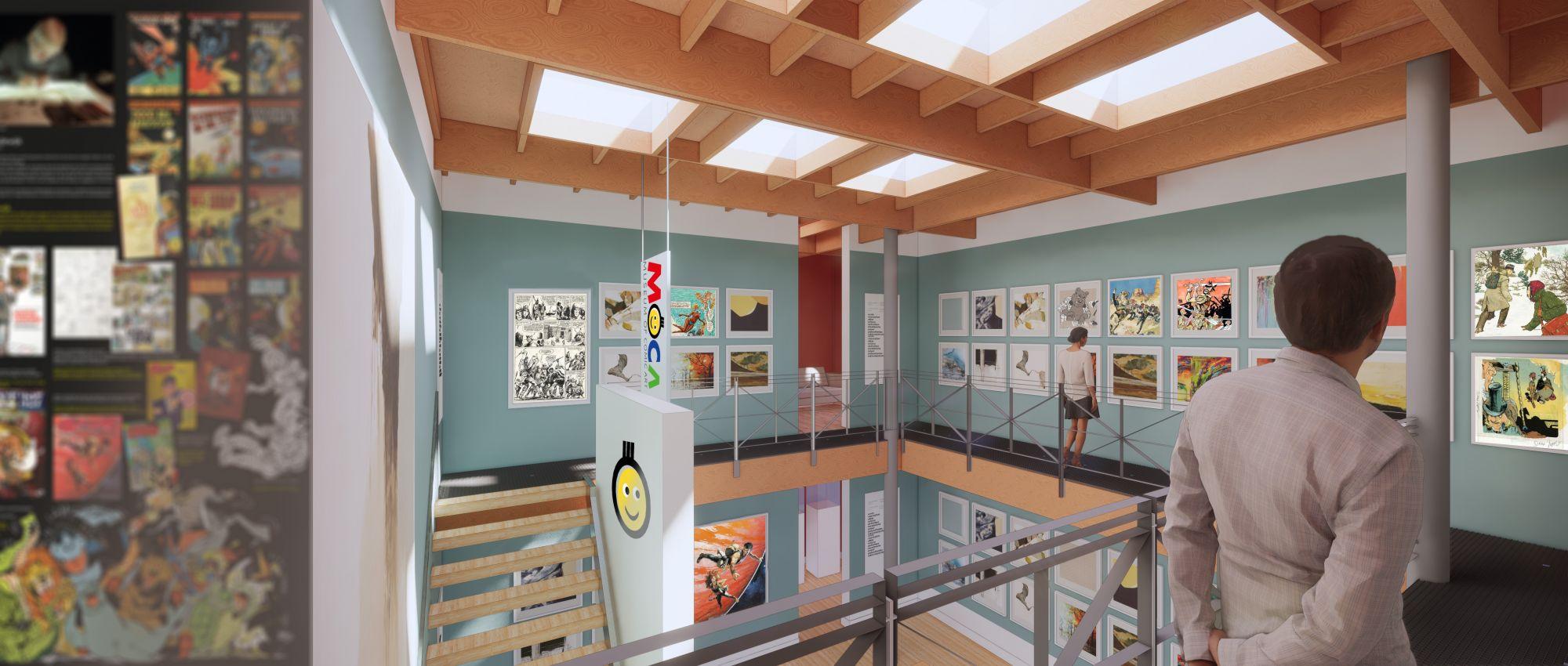 Binnenzicht museum (c) Moca