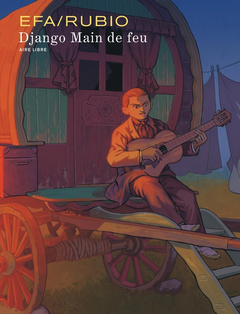 Cover Django - Main de feu