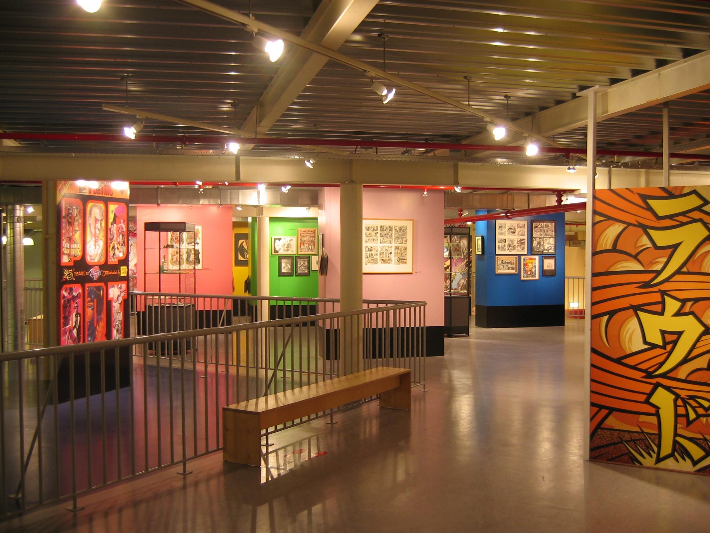 Interieur Stripmuseum Groningen