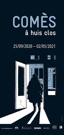 Campagnebeeld Comès à huis clos