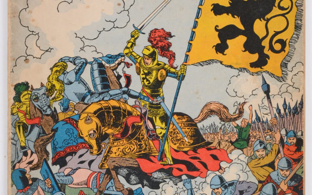 Nieuwe editie van DW B: De Grote Vlaamse Striproman