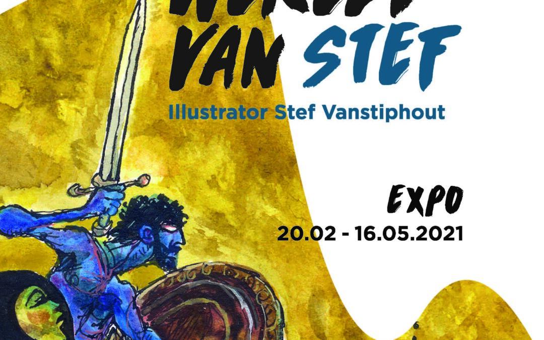 Expotip: De wondere wereld van Stef