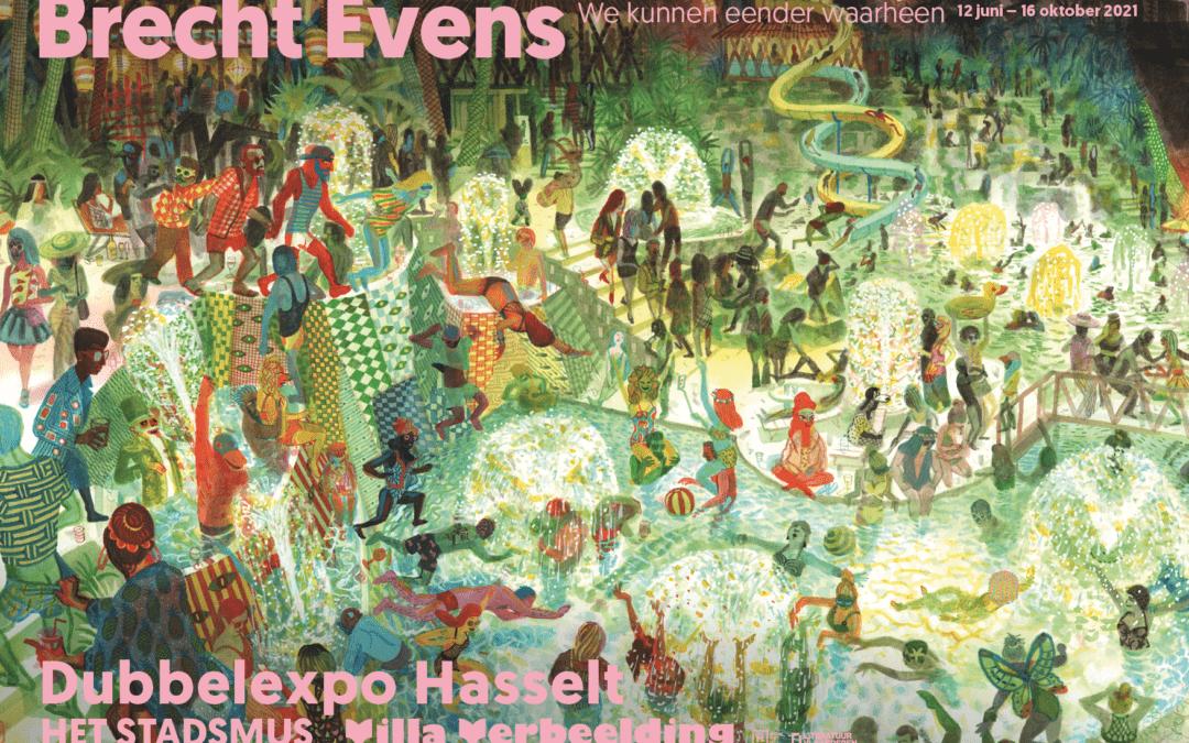 Eerste solotentoonstelling van Brecht Evens in België
