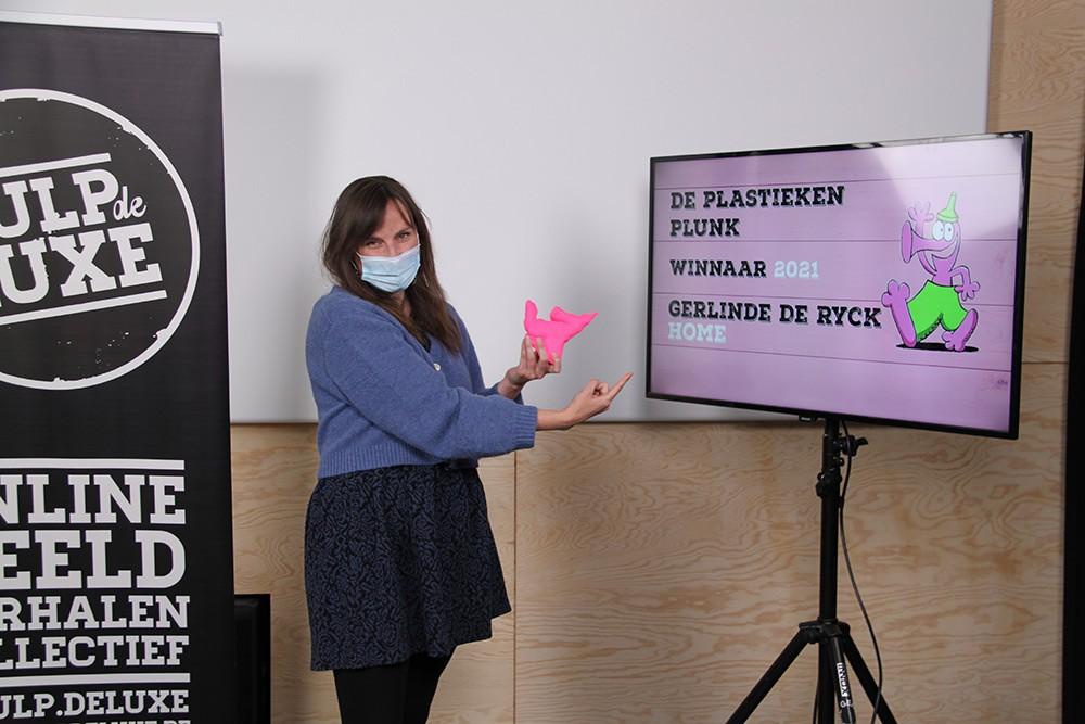 Gerlinde De Ryck wint de Plastieken Plunk 2021