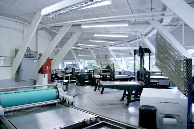 interieur Frans Masereel Centrum