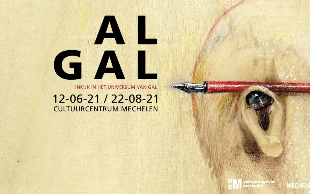 Save the date: 'AL GAL Inkijk in het universum van GAL'