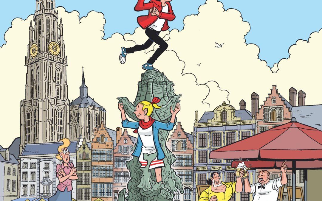 De Antwerpse avonturen van Suske en Wiske