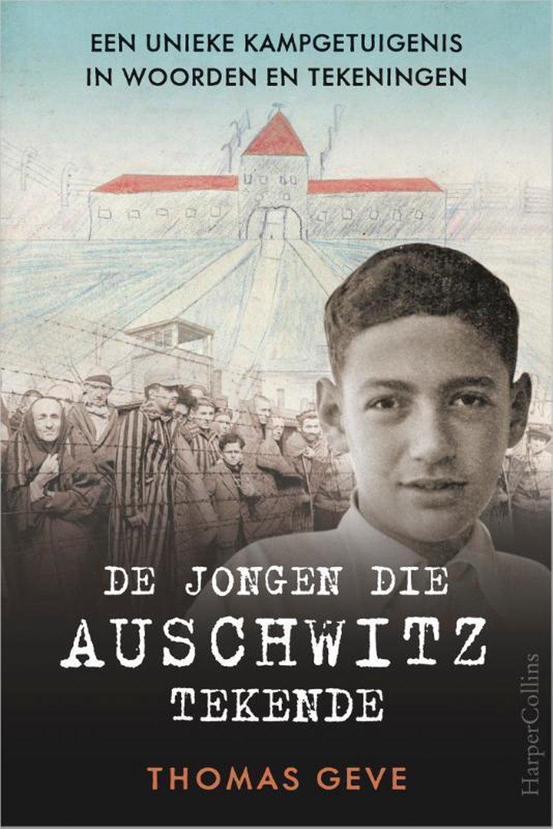 Cover 'De jongen die Auschwitz tekende'