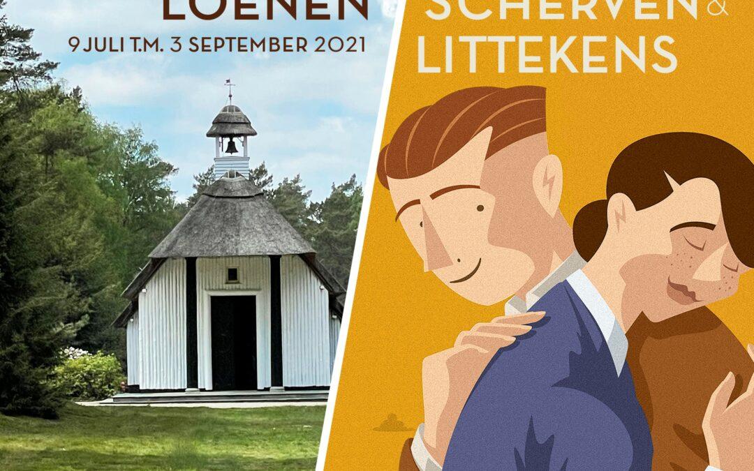 'Scherven en Littekens' in Nationaal Ereveld Loenen
