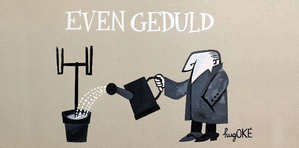Even Geduld (c) hugOKÉ