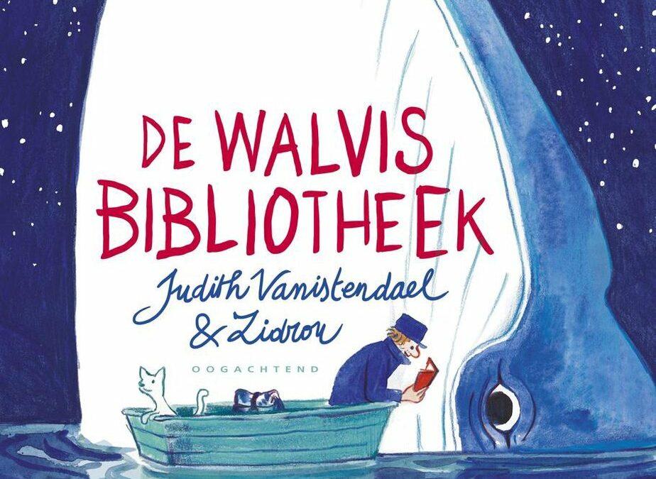 'De Walvisbibliotheek' winnaar Willy Vandersteenprijs