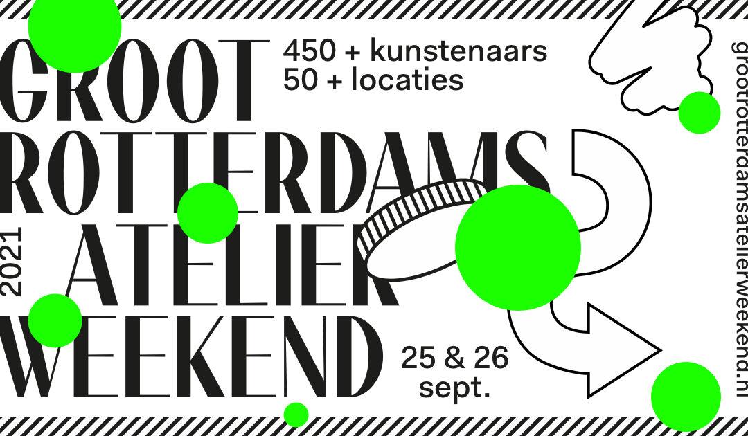 Groot Rotterdams Atelier Weekend: 459 kunstenaars op 56 locaties